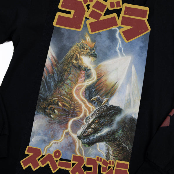 SpaceGodzilla Black Long Sleeve