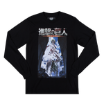 Attack on Titan Key Black Long Sleeve