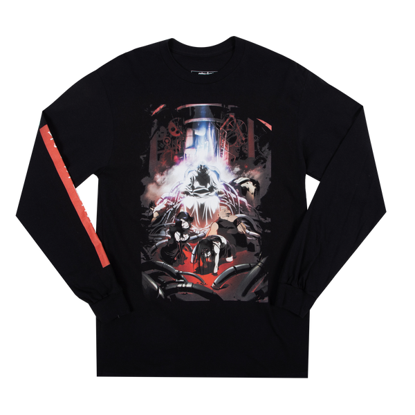 Full Alchemist Homunculus Black Long Sleeve