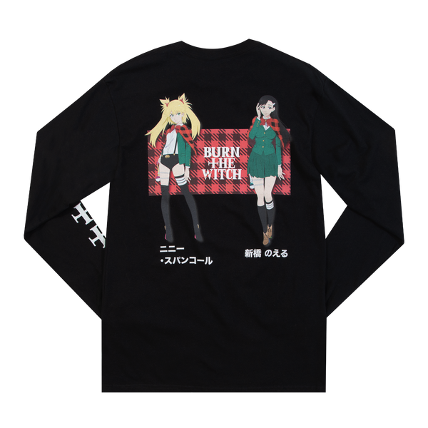 Burn the Witch Nini and Noel Black Long Sleeve