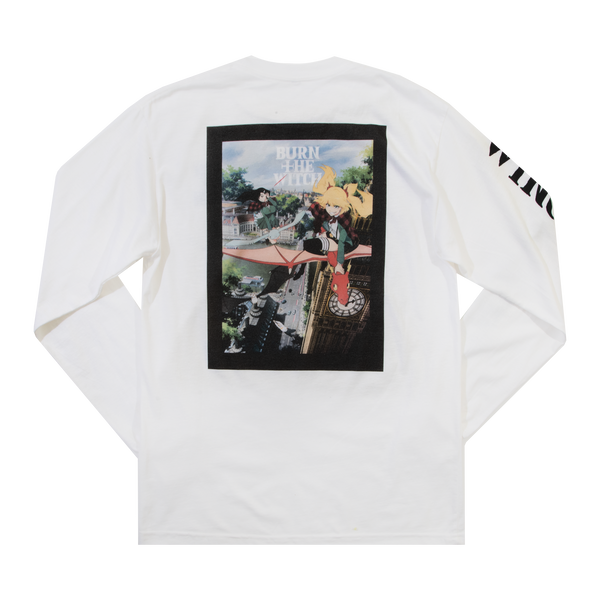 Burn the Witch Key Art White Long Sleeve
