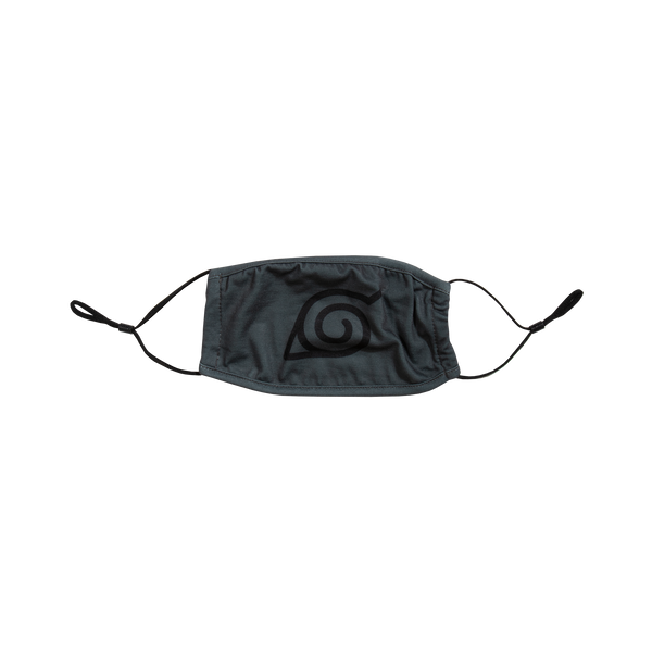 Naruto Leaf Village Grey Face Mask