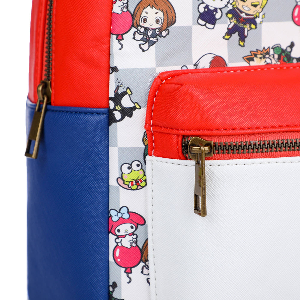 My Hero Academia x Sanrio Color Block Mini Backpack
