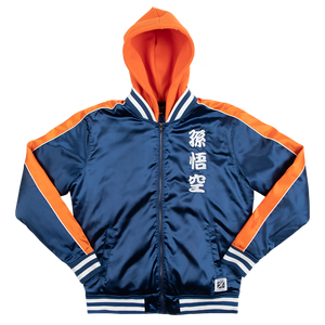 Dragon Ball Z Goku Satin Jacket