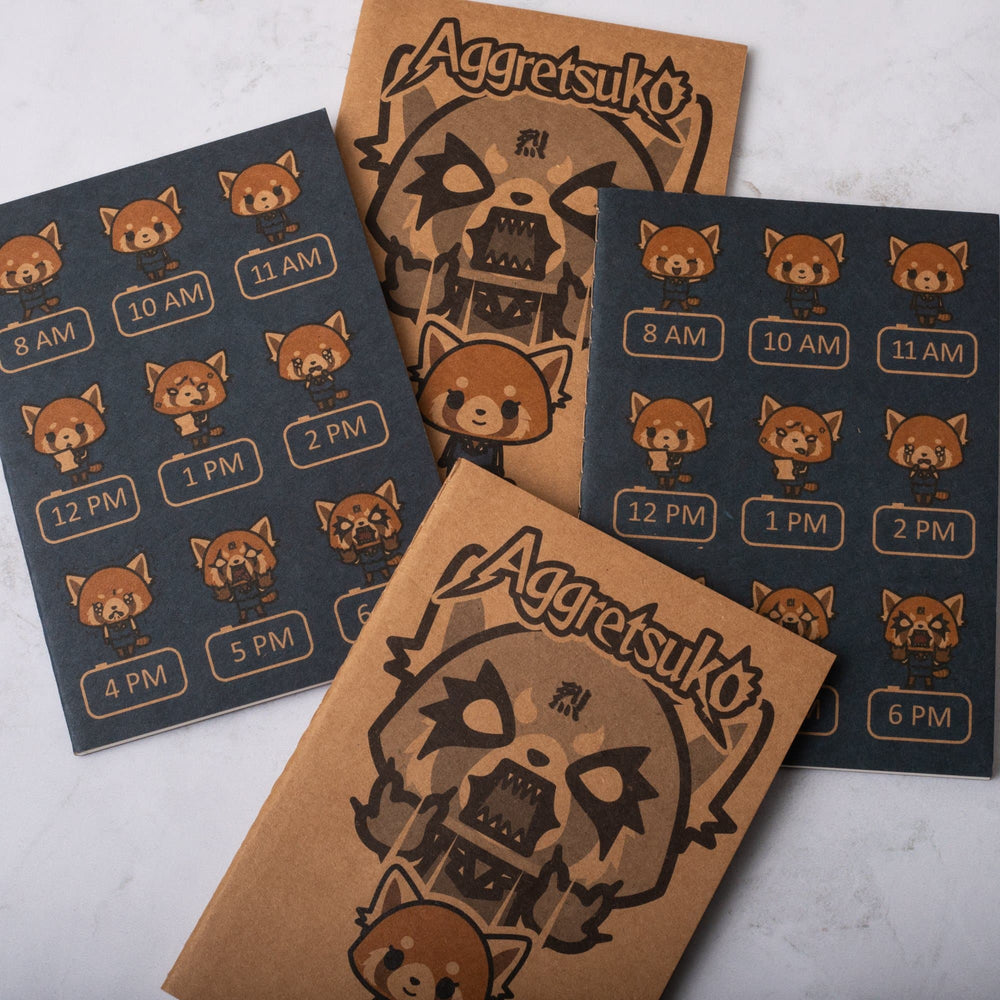 Aggretsuko Pocket Journals