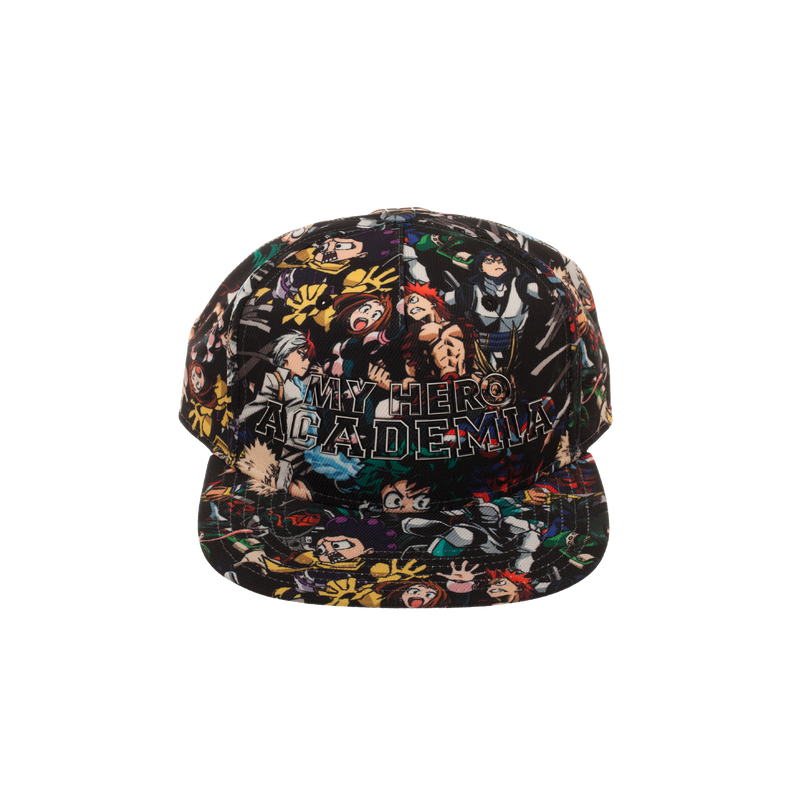 My Hero Academia Allover Art Snapback