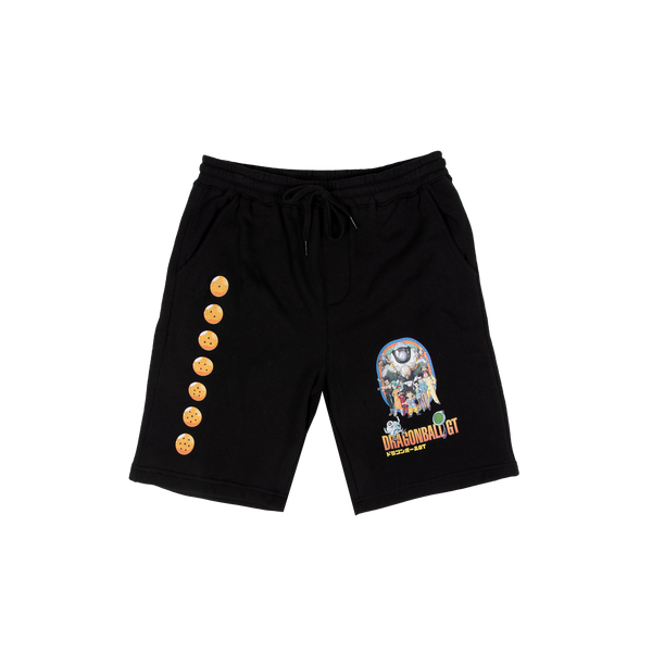 Dragon Ball GT Group Black Shorts