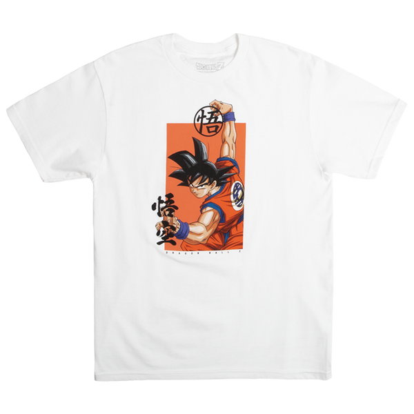 Dragon Ball Z Goku Pose White Tee