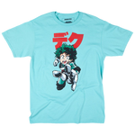 My Hero Academia Deku Punch Mint Tee