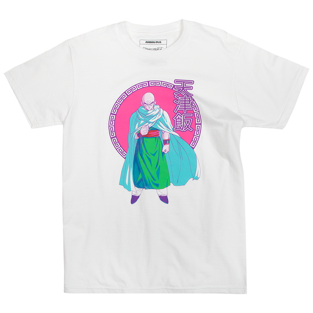 Dragon Ball Z Tien White Tee