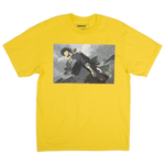 Cowboy Bebop Spike and Julia Yellow Tee
