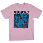 Cowboy Bebop Record Cover Pink Tee