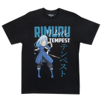 That Time I Got Reincarnated As A Slime Rimuru Tempest Black Tee