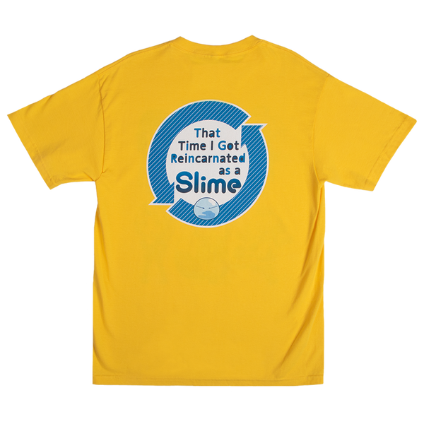 That Time I Got Reincarnated as a Slime Yellow Tee