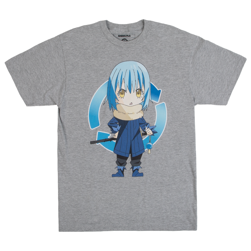 That Time I Got Reincarnated As A Slime Rimuru Tempest Grey Tee