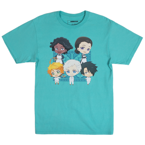 The Promised Neverland Chibi Blue Tee