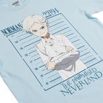 The Promised Neverland Norman Blue Tee