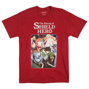 The Rising of Shield Hero Red Tee
