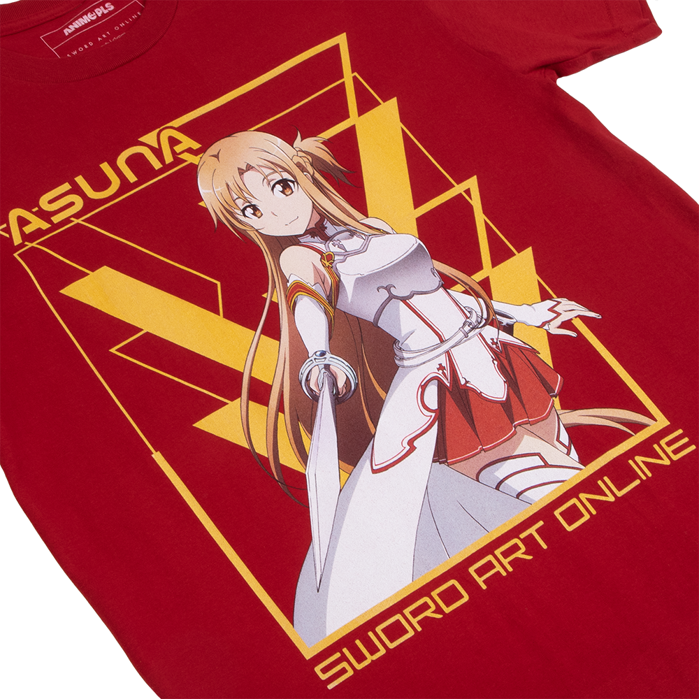 Sword Art Online Asuna Red Tee