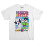 Hunter x Hunter Gon & Killua White Tee