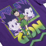 Hunter x Hunter Gon Purple Tee