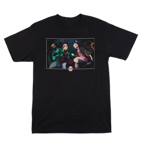 Demon Slayer Nezuko and Tanjiro Tee