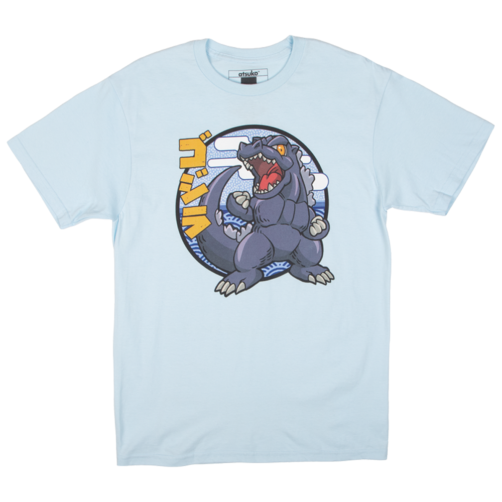 Godzilla Super Deformed Chambray Tee