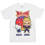 My Hero Academia X Hello Kitty & Friends All Might White Tee