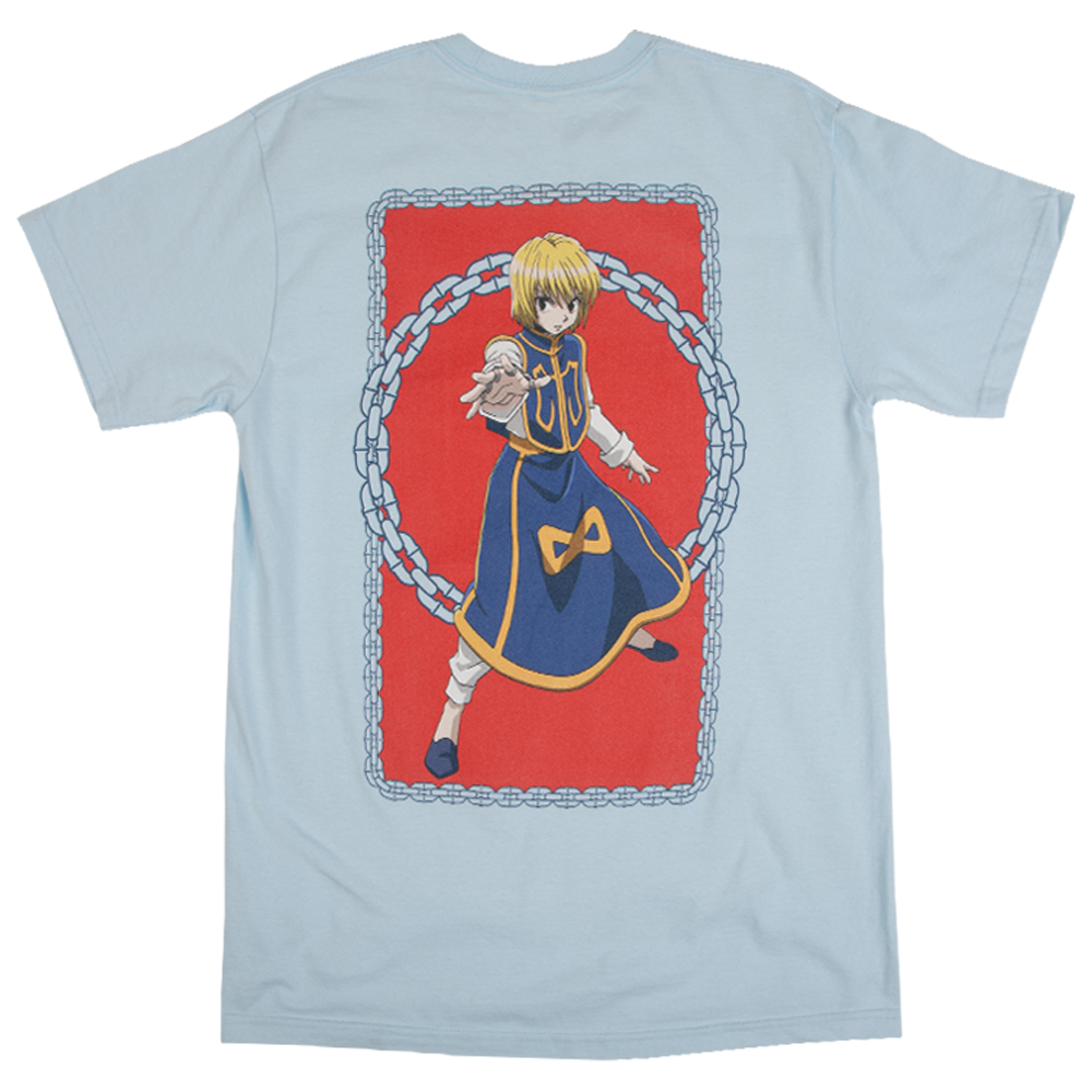 Hunter x Hunter Kurapika Chains Light Blue Tee