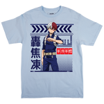 My Hero Academia Todoroki Chambray Tee