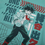My Hero Academia Deku Mint Tee
