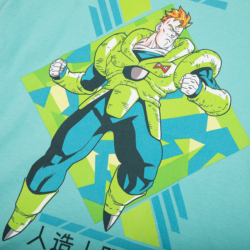 Dragon Ball Z Android 16 Mint Tee