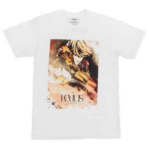 Levius Steampunk Boxing White Tee
