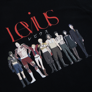 Levius Cast Black Tee