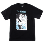 Lupin The Third Thief Character Black Tee