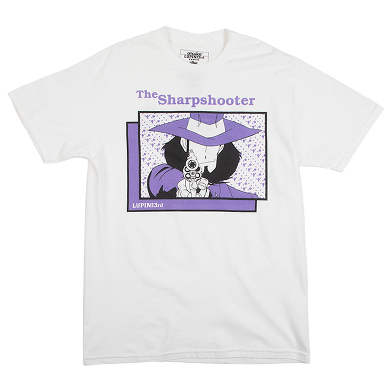 Lupin The Sharpshooter White Tee