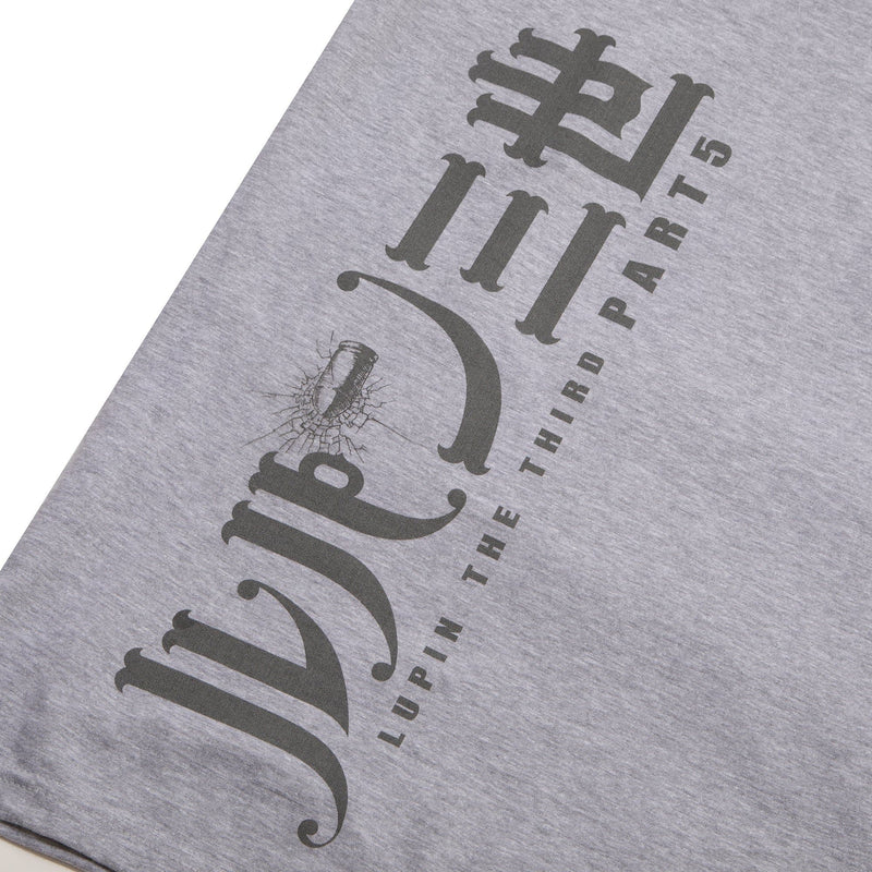 Lupin Jigen Athletic Gray Tee