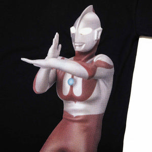Ultraman Beam Back Hit Black Tee