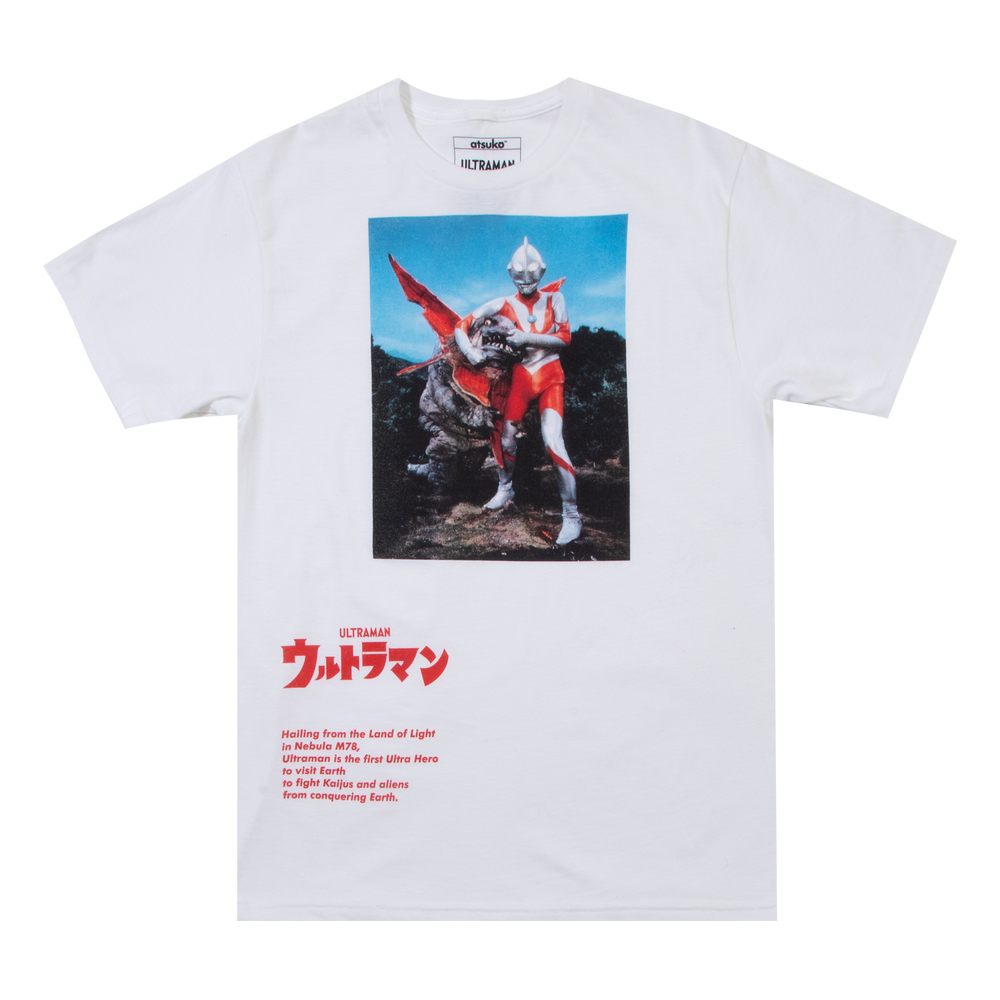 Ultraman Headlock White Tee