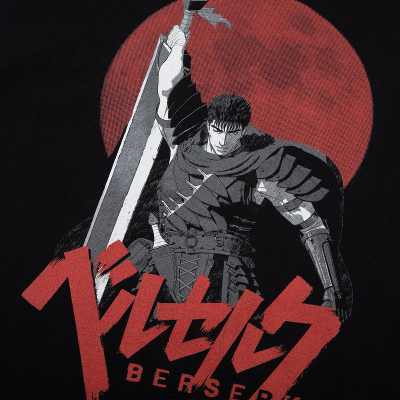 Berserk Hunter's Moon Black Tee