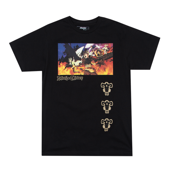 Black Clover Wizard King Black Tee