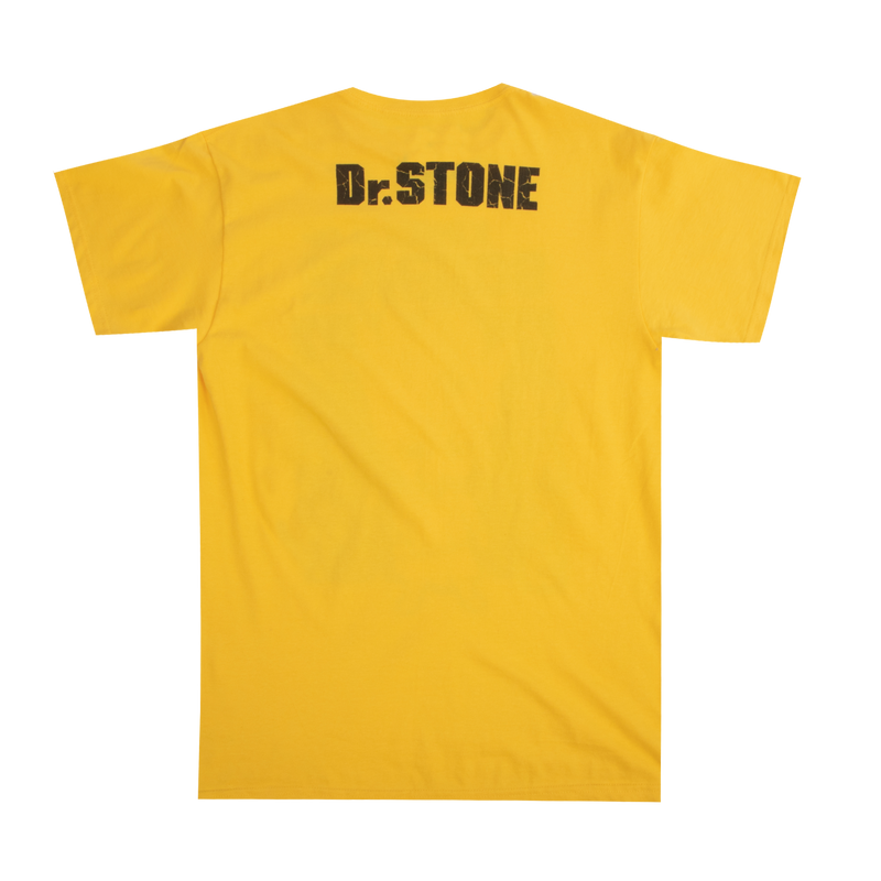Dr. Stone Kingdom of Science Yellow Tee