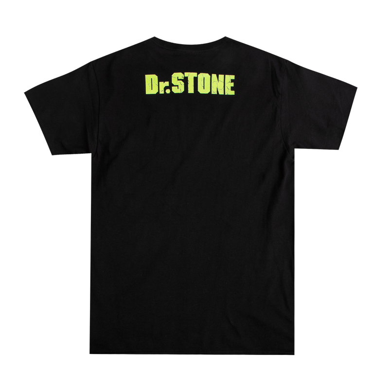 Dr. Stone Kingdom of Science Black Tee