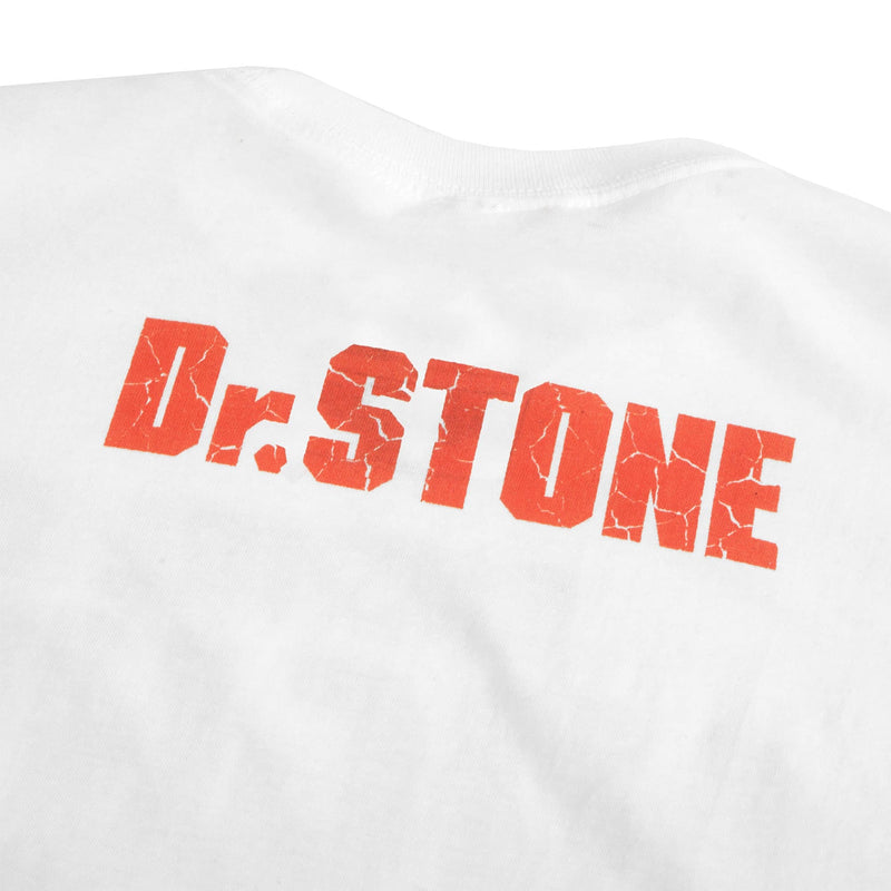 Dr. Stone Empire of Might White Tee