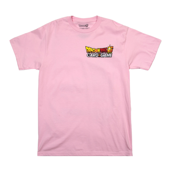 Dragon Ball Super Card Game Rose Goku Pink Tee
