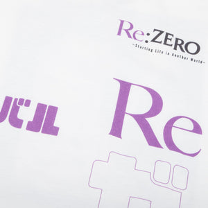 Re:Zero Key Art White Tee
