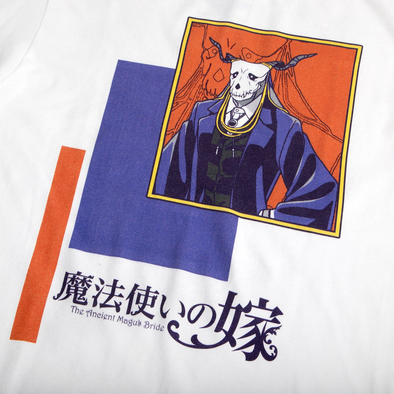 The Ancient Magus' Bride Elias Squared White Tee