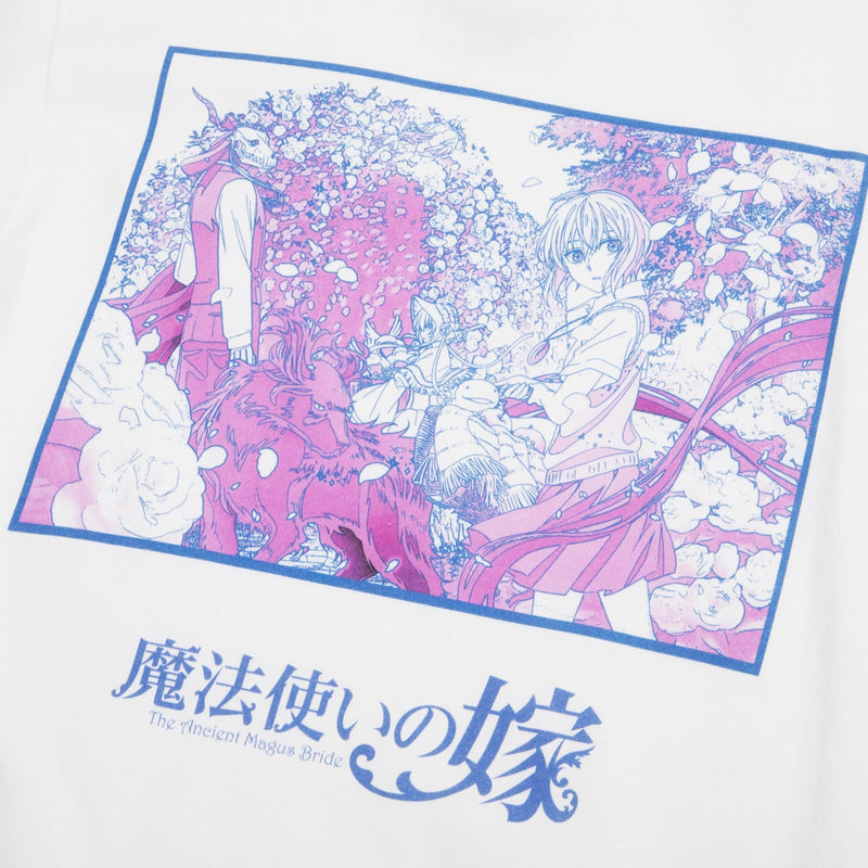 The Ancient Magus' Bride Key Art White Tee