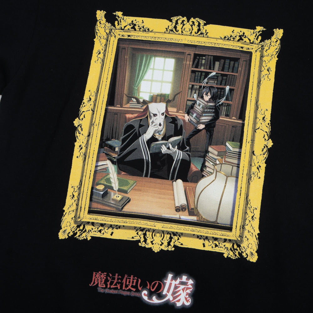 The Ancient Magus' Bride Library Black Tee