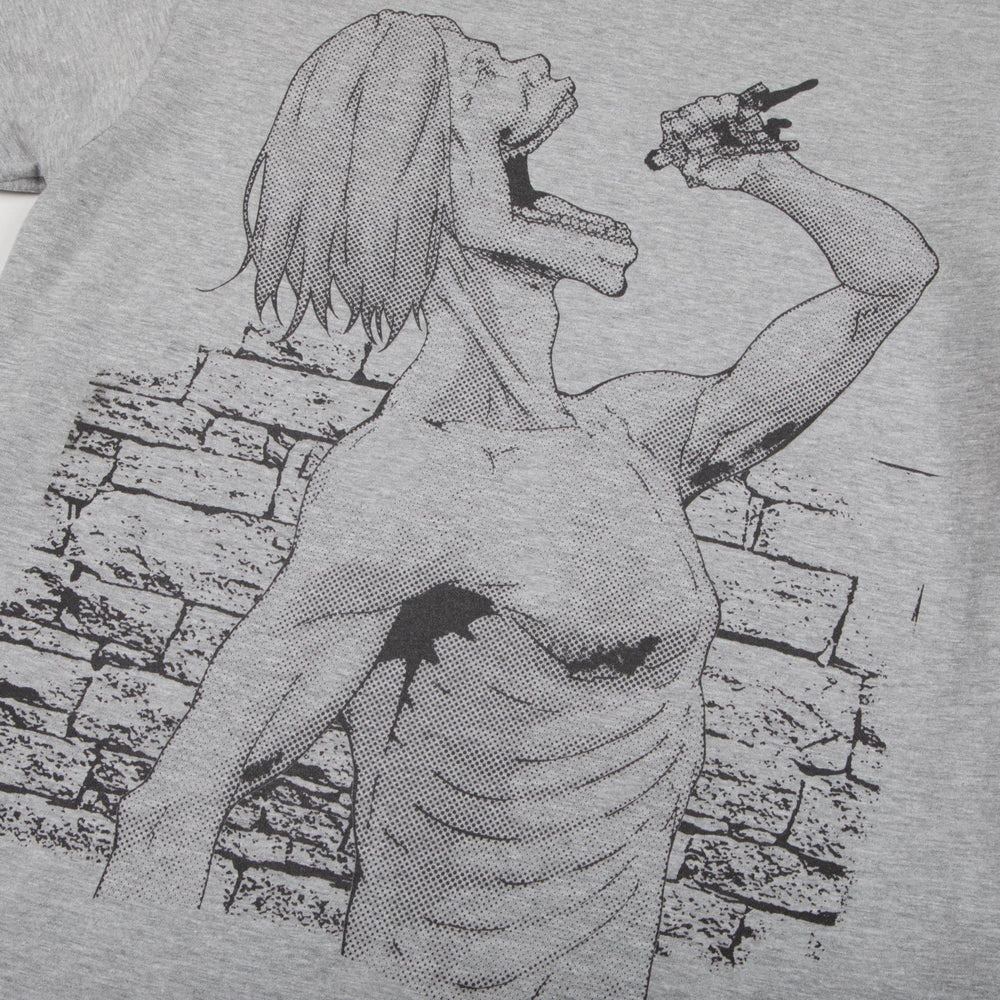 Attack on Titan Consume Grey Tee